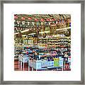 Funky Town Market Venice California Framed Print