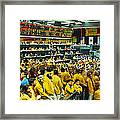 Futures And Options Traders Chicago Framed Print