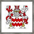 Gaine Coat Of Arms Irish Framed Print