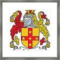 Galwey Coat Of Arms Irish Framed Print