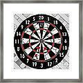 Game Of Darts Anyone? Framed Print by Kaye Menner