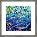 Gamefish Collage In0031 Framed Print