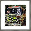 Garcia Vw Bus Framed Print
