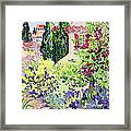 Garden At Vaison Framed Print