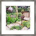 Garden Beautiful Framed Print by Boon Mee