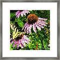 Garden Butterfly Framed Print