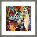 Garden Gazebo Framed Print