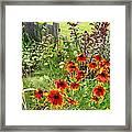 Garden Glimpse Framed Print