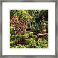 Garden Impressions Framed Print
