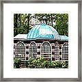 Garden Kiosk At Summer Palace Framed Print