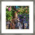 Garden Meditation Framed Print