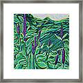 Garden Mint Framed Print