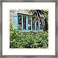 Garden Window Db Framed Print