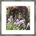 Gardens At Caesars Framed Print