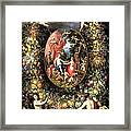 Garland Of Fruit And Flowers Framed Print