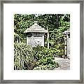Gate Entrance Framed Print