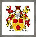 Gavin Coat Of Arms Irish Framed Print