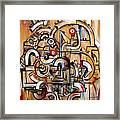 Gears Of Ganesha Framed Print