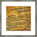 Genesis Framed Print by Olivier Le Queinec