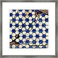 Geographic Tile Framed Print