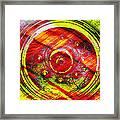 Geometric Colors  Framed Print