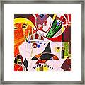 Geometric Essence  Framed Print