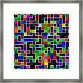 Geometric Pattern 2 Framed Print