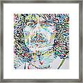George Harrison Portrait.2 Framed Print