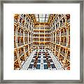 George Peabody Library I Framed Print