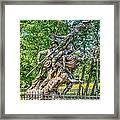 Gettysburg Battleground Memorial Framed Print