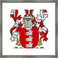 Gibney Coat Of Arms Irish Framed Print
