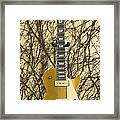 Gibson Les Paul Gold Top '56 Guitar Framed Print