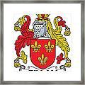 Gillan Coat Of Arms Irish Framed Print