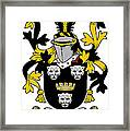 Gindon Coat Of Arms Irish Framed Print