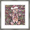 Gingerbread Fantastico Framed Print
