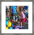 Girl Power Framed Print