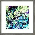 Glacial Earth Framed Print