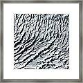 Glacier Abstract Framed Print