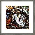 Glass Abstract 125 Framed Print