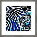Glass Abstract 132 Framed Print by Sarah Loft