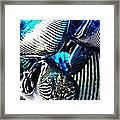 Glass Abstract 157 Framed Print