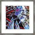 Glass Abstract 220 Framed Print