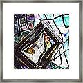 Glass Abstract 309 Framed Print