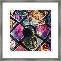 Glass Abstract 393 Framed Print