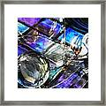 Glass Abstract 396 Framed Print