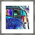 Glass Abstract 490 Framed Print