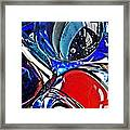Glass Abstract 507 Framed Print