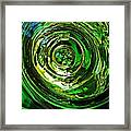 Glass Abstract 575 Framed Print