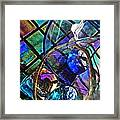 Glass Abstract 690 Framed Print