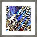 Glass Abstract 746 Framed Print